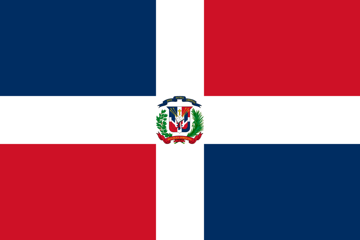 Dominican Republic + flag