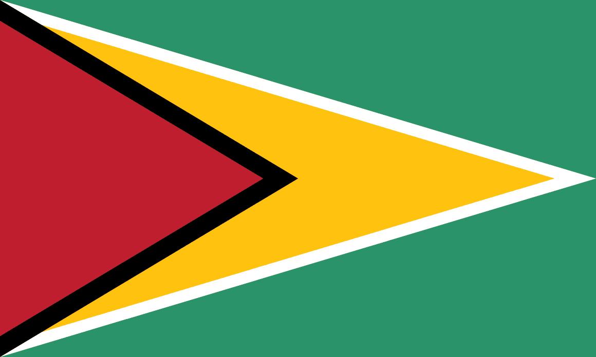Guyana (British) flag