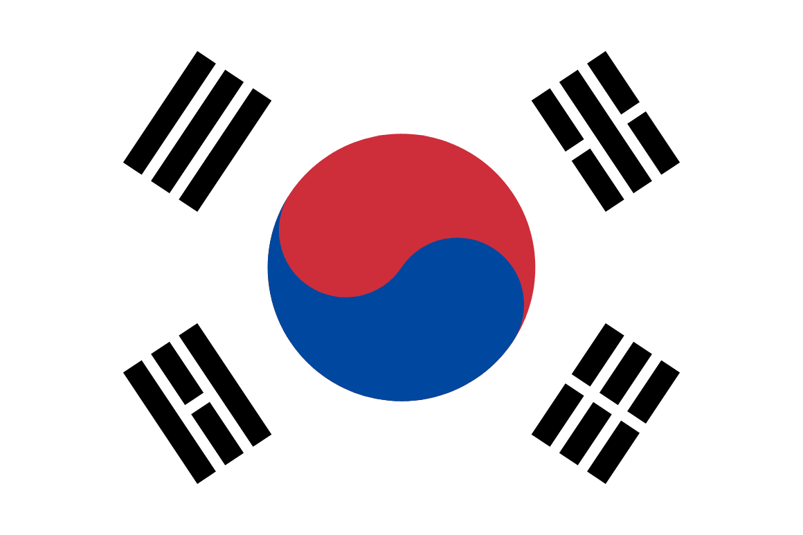 Korea Republic Of flag