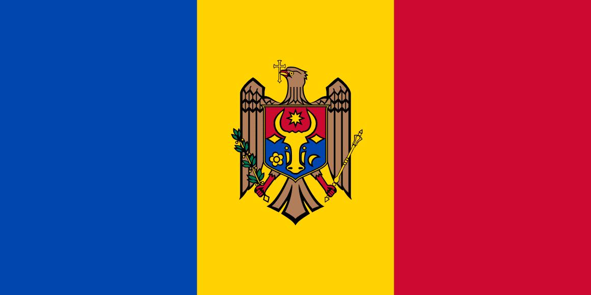 Moldova Republic Of flag