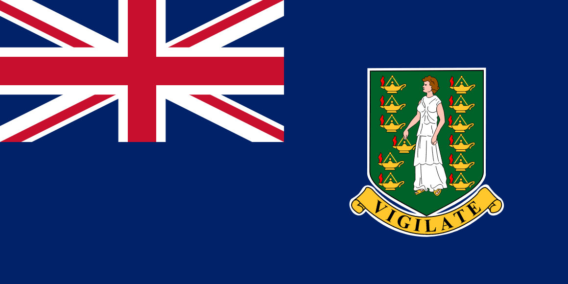 Virgin Islands (British) flag