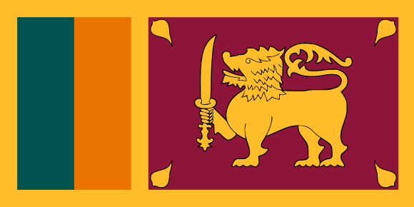 Sri Lankas flag