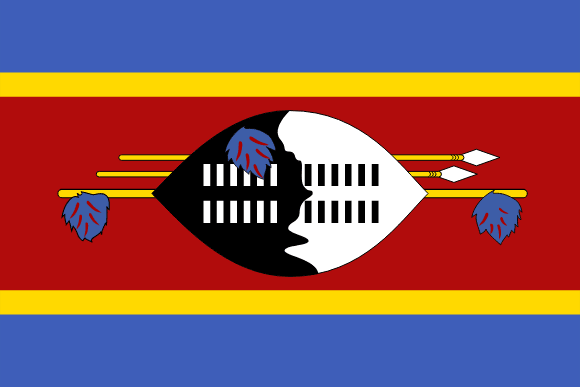 Swazilands flagga