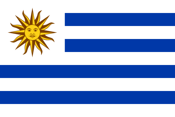 Uruguay Flags Of Countries - Uruguay flag
