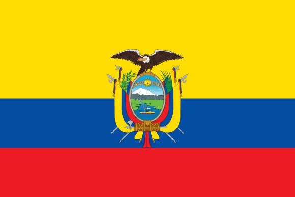 Resultado de imagen de bandera ecuador